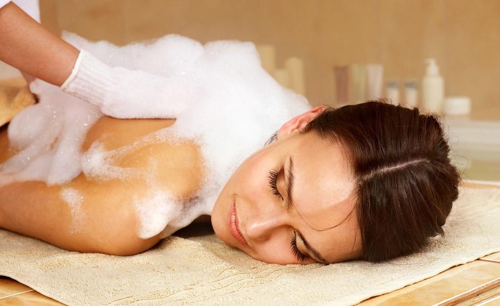 Мыльный массаж