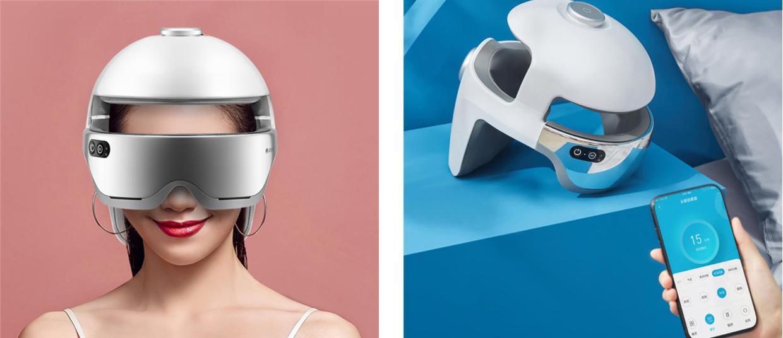 Компания Xiaomi представила футуристический шлем для массажа головы