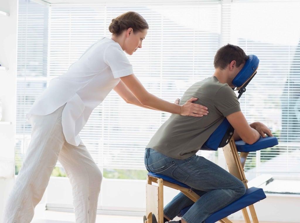 Офисный массаж